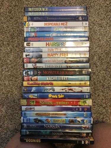 Miscellaneous PG rated DVD movies $5.00 each for sale in Taylorsville , UT