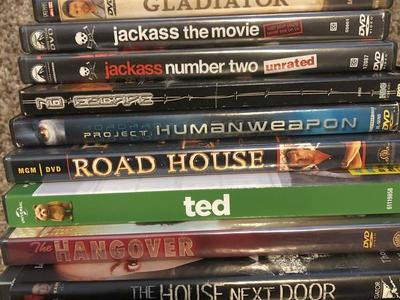 Miscellaneous R rated DVD movies $5.00 each