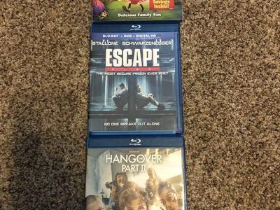 Miscellaneous Blu-ray Disc movies $5.00 each