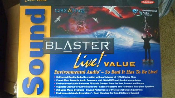 Creative Sound Blaster Live! PCI (CT4670) Sound Card for sale in Kaysville , UT