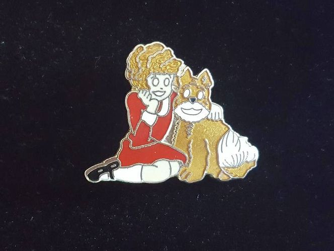 Vintage Little Orphan Annie & Sandy Jewelry Pin for sale in South Jordan , UT