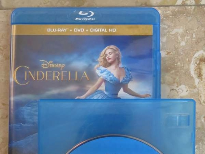 "Disney's ""Cinderella"" Live Action Blu-ray Disc – BRAND-NEW (NOT Original Case) for sale in South Jordan , UT"