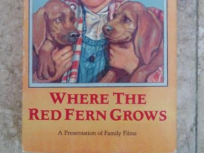 "Vintage ""Where the Red Fern Grows"" VHS"