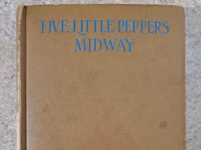 "Vintage ""Five Little Peppers - Midway"" Hardcover Book"