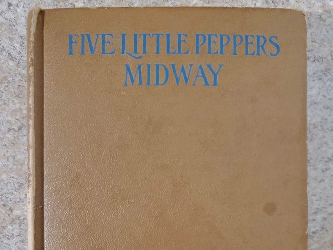 """Vintage """"Five Little Peppers - Midway"""" Hardcover Book for sale in South Jordan , UT"""