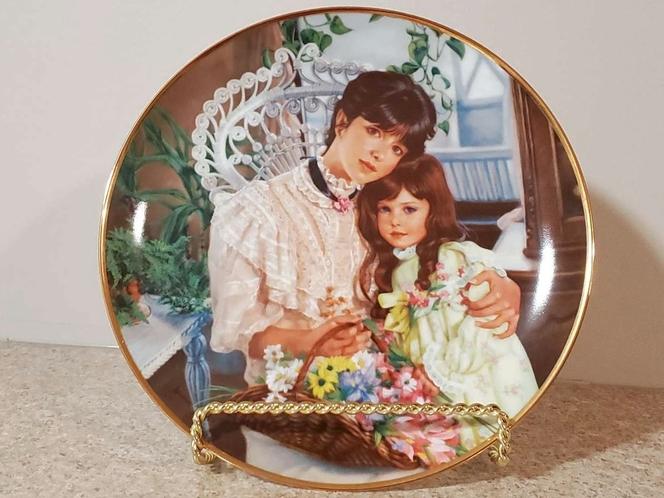 "Vintage ""A Cherished Time"" Sandra Kuck Decorative Plate for sale in South Jordan , UT"