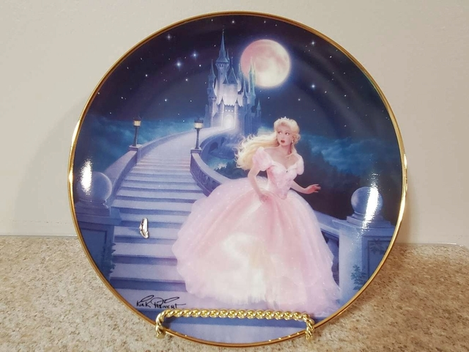 """Franklin Mint Heirloom Plate """"The Magic of Cinderella"""" for sale in South Jordan , UT"""