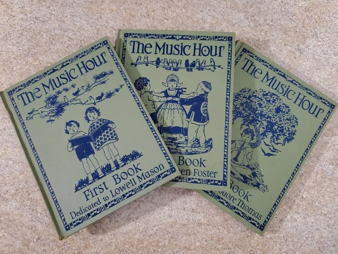 """Vintage """"The Music Hour"""" 1st, 2nd & 3rd Books (1937, Hardcover) for sale in South Jordan , UT"""