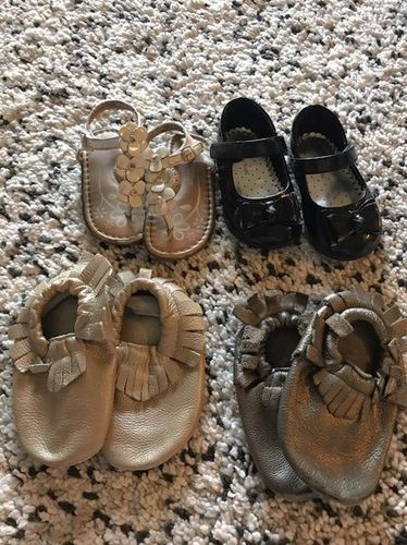 Size 4 Girls Shoes, Sandals, Moccasins for sale in West Jordan , UT