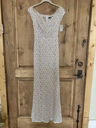 NEW! Bridesmaid Prom Dress Ivory Sequin 5/6 7/8 for sale in Mapleton , UT