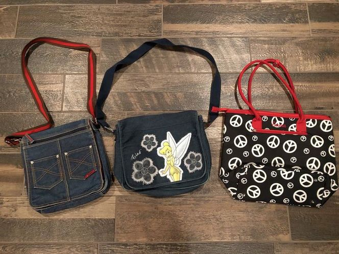 Two Jean  backpacks and One Brand New Bag for sale in Woods Cross , UT