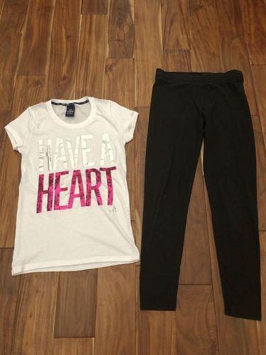Victoria's Secret pink black leggings and shirt for sale in Woods Cross , UT