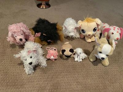 Dog Lovers Lot of 10 Stuff Animal dogs