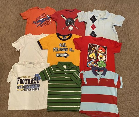 Size 5t Name Brand Shirts for sale in Woods Cross , UT