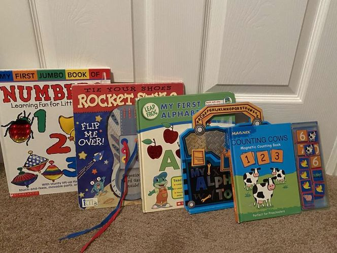 Children's ABC and Number activity books for sale in Woods Cross , UT