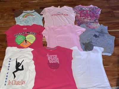 Girls Size 10/12 Shirts Set