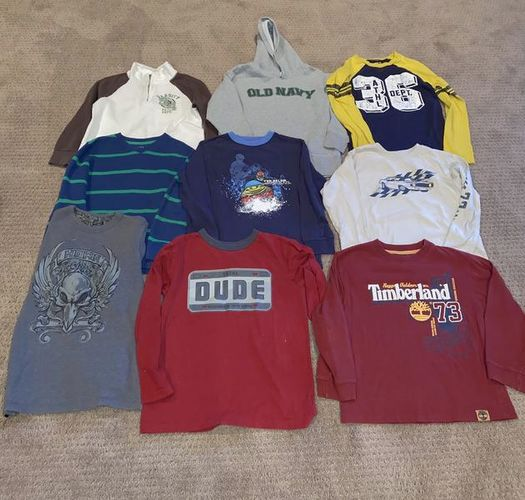 Boys Size 7 Long Sleeve Shirts for sale in Woods Cross , UT
