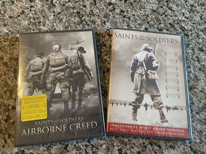 Brand New Two Series Saints and Soldiers Dvd for sale in Woods Cross , UT