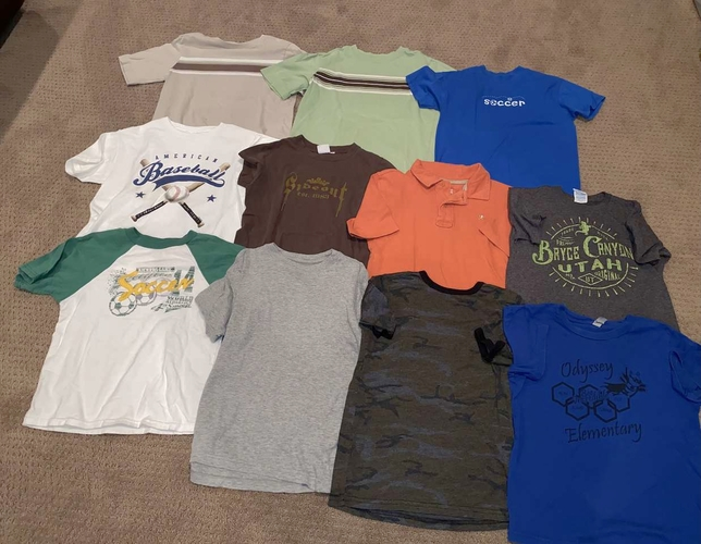 Boys Size 8 Shirts for sale in Woods Cross , UT