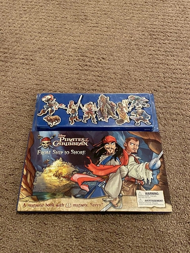 Disney Pirates of the Caribbean Magnetic Book for sale in Woods Cross , UT