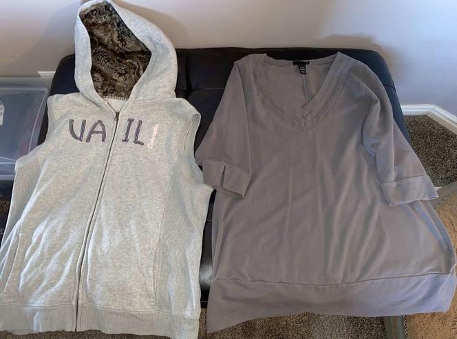 Women's XL Vest and Lane Bryant Long Shirt for sale in Woods Cross , UT