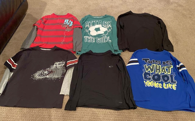 Boys Size 8 Long Sleeve Shirts for sale in Woods Cross , UT