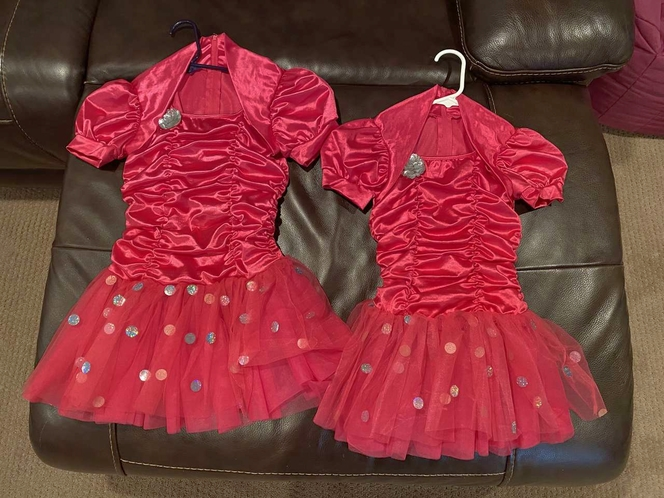 Girls Dance or Jazz Costumes Size MC and LC for sale in Woods Cross , UT