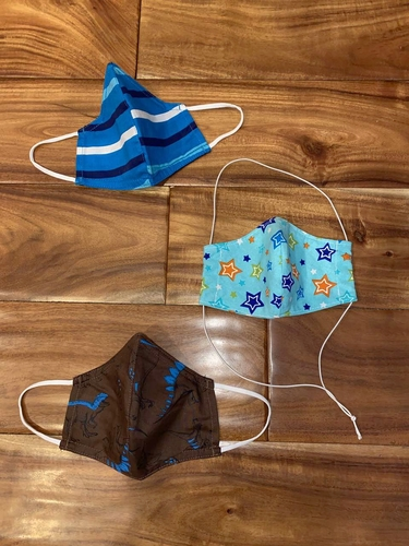 Boys Kids Size Masks (Two Brand New) for sale in Woods Cross , UT