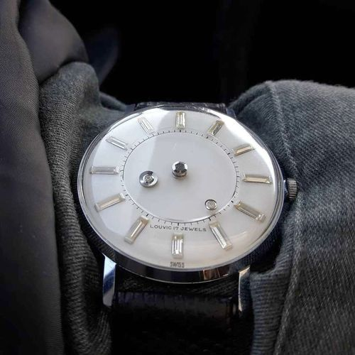 LOUVIC MYSTERY DIAL WATCH 1960,s for sale in Roy , UT