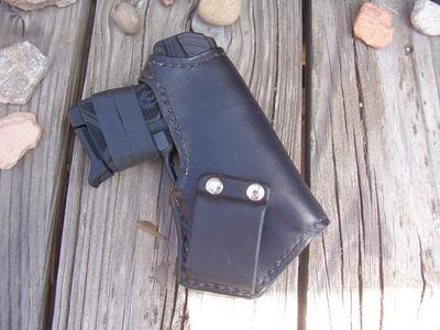 Ruger 380 LCP II LF Custom Leather Holster IBC