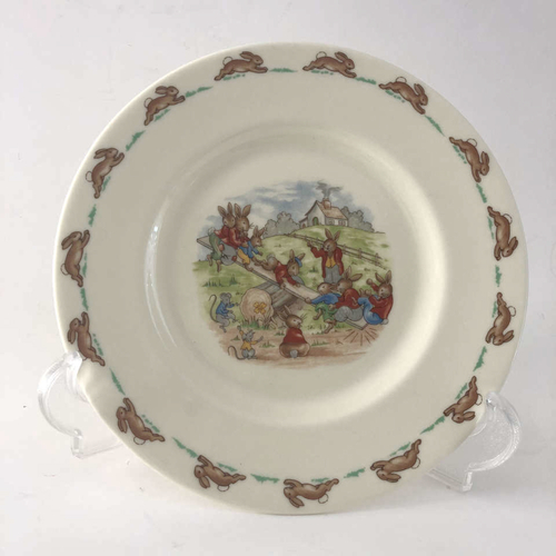 """Royal Doulton """"Bunnykins"""" Bone China Plate Seesaw Scene for sale in Cottonwood Heights , UT"""