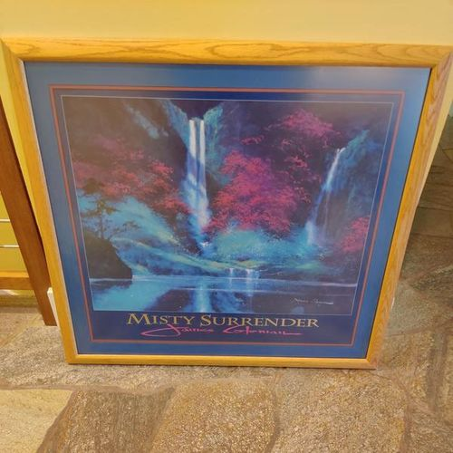 Misty Surrender print with custom frame for sale in Salt Lake City , UT