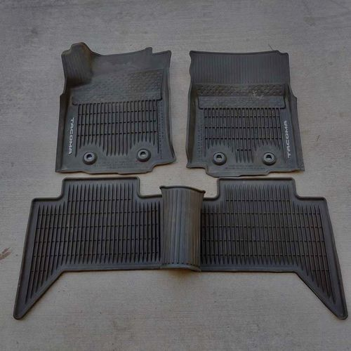 2018+ Tacoma All Weather Mats for Manual Transmission for sale in Salt Lake City , UT