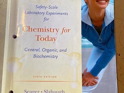 Chemistry For Today 6th Edition