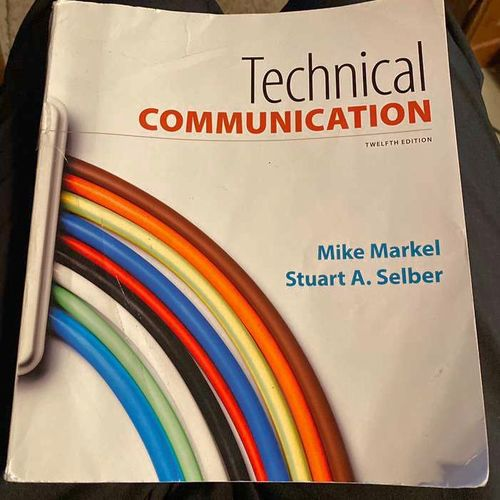 Technical Communication 12th Edition for sale in Ogden , UT
