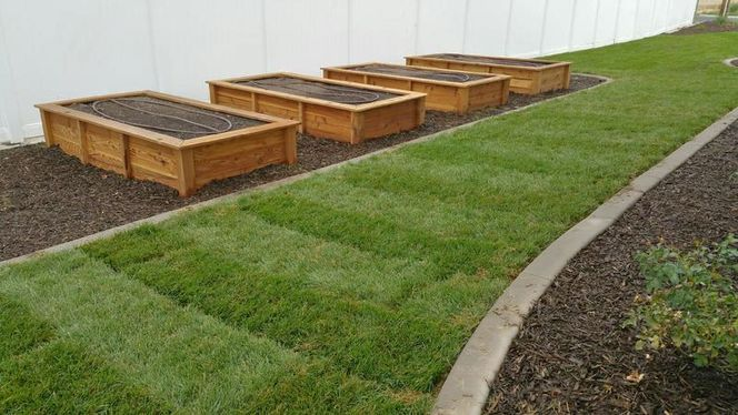 Raised Bed Cedar Garden Boxes, Grow planters for sale in Provo , UT