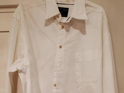 Size XXL button down white shirt