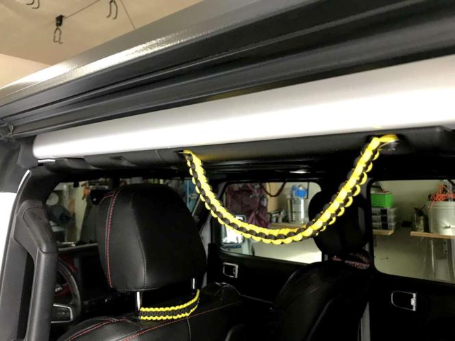 Jeep JLU Grab Handles, 4 door, 2 seat back and 1 key chain set, for sale in South Jordan , UT