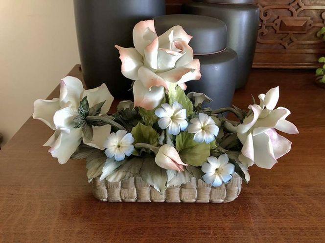 Vintage Capodimonte Floral Centerpiece for sale in Salt Lake City , UT