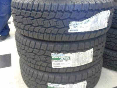 SET OF 245/65R17  TOYO OPEN COUNTRY  A/T  WITH 55.