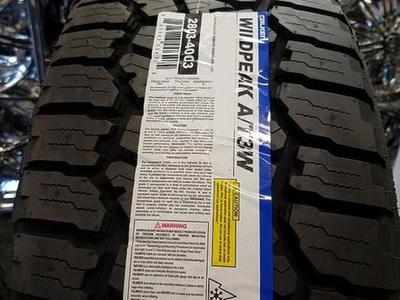 BRAND NEW SET  OF P265/70R16 FALKEN WILD PEAK