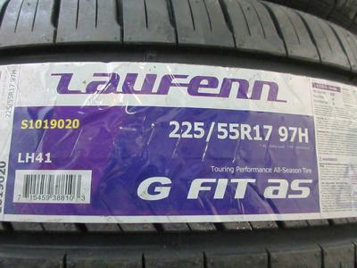 BRAND NEW SET OF 225/55R17 97H LAUFENN