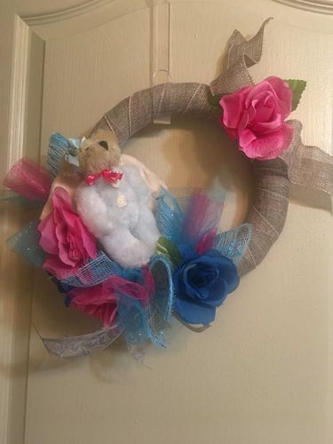 Darling 3D Wreath & Circle Wreath Set for sale in Payson , UT