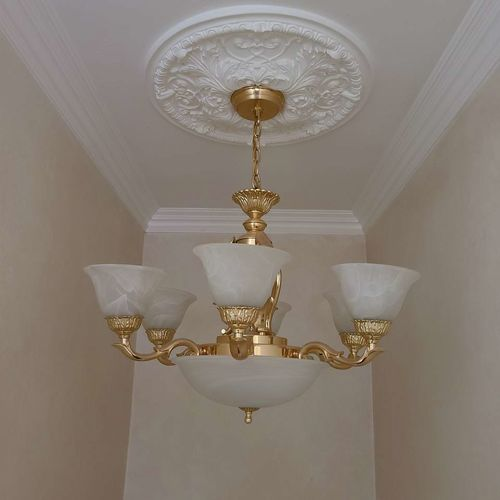 Chandelier and ceiling molding ring  for sale in Holladay , UT