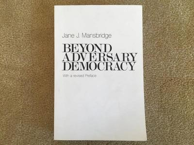 Beyond Adversary Democracy