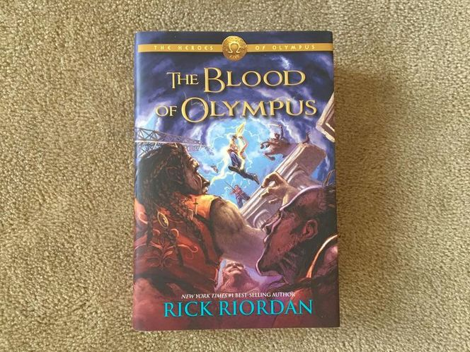 The Blood of Olympus by Rick Riordan for sale in Millcreek , UT