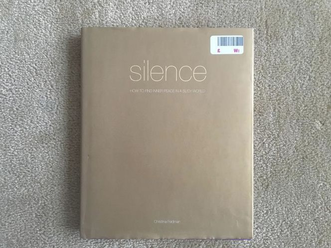 Silence: How to Find Inner Peace in a Busy World for sale in Millcreek , UT