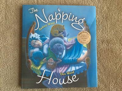 The Napping House book and audio CD