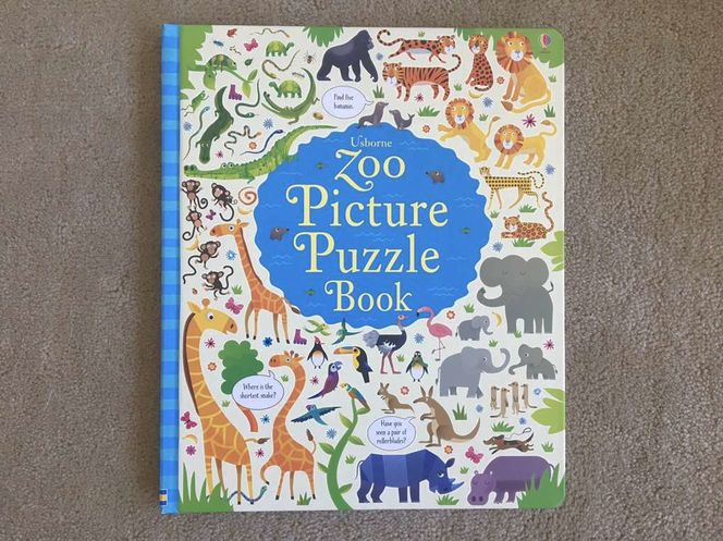 Usborne Zoo Picture Puzzle Book for sale in Millcreek , UT
