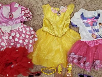 Disney Dresses Minnie Mouse Belle Doc McStuffins